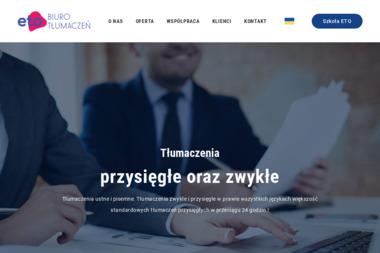 ETO Sp. z o.o. Sp. K. - Tłumacze Oława