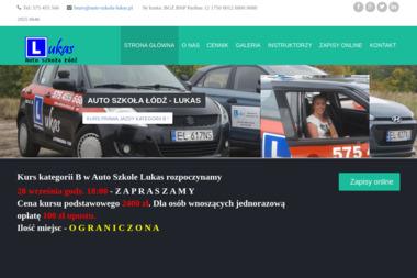 LUKAS ŁUKASZ SOBCZAK - Nauka Jazdy Łódź