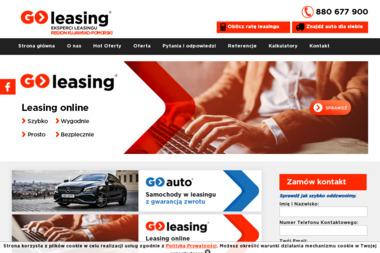 GO-LEASING ODDZ BYDGOSZCZ 1 - Leasing maszyn i urządzeń Bydgoszcz