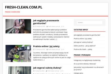 FRESH AND CLEAN PRALNIA CHEMICZNA - Pranie i prasowanie Warszawa