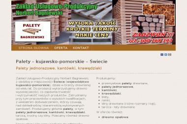 Zakład Usługowo-Produkcyjny - Dla przemysłu drzewnego Lniano