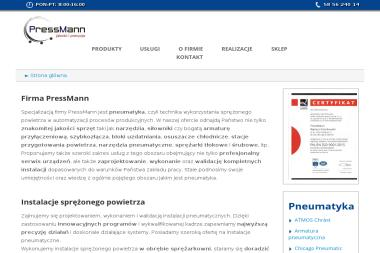 PressMann Bartosz Grochowski - Sklep internetowy Bobowo