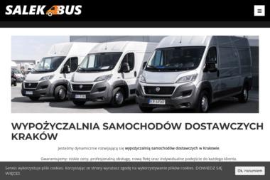 SalekBus - Wypożyczalnia samochodów dostawczych - Wynajem Samochodów Kraków