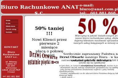 ANAT S.C. Agnieszka Kmieć Iwona Safin-Łukasiewicz - Biuro Rachunkowe Warszawa