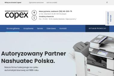 Copex - Sprzedaż Naprawa Kserokopiarek Jerzy Marciniak - Serwis sprzętu biurowego Grudziądz