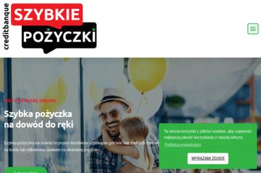CREDIT BANQUE - Kredyt Łódź