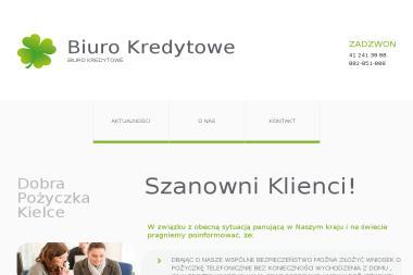 BIURO KREDYTOWE DOBRA POŻYCZKA - Pożyczki bez BIK Kielce