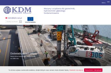 KDM Dariusz Mazur - Maszyny budowlane Michałowice