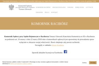 Komornik Sądowy Tomasz Głowacki - Kancelaria Prawna Racibórz