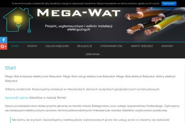 Mega-Wat Grzegorz Maciorowski - Instalacje Elektryczne Białystok