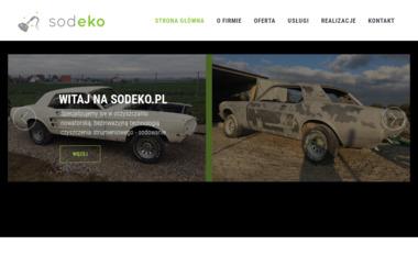 SODEKO Jacek Skwara - Piaskowanie Kraków