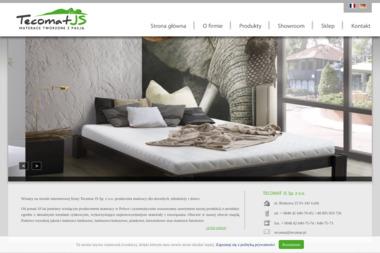Tecomat JS Sp z o o - Wyposażenie sypialni Łódź