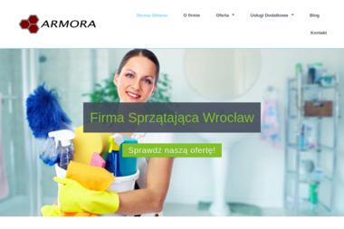 Armora Artur Chodkowski - Czyszczenie Elewacji Wrocław