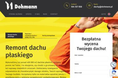Dohmann Sp. z o.o. - Pokrycia dachowe Gdańsk