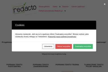 Redacto Marek Kutrowski - Tłumacze Bogucino