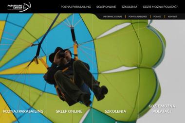 Parasailing Center P.P.H.U. Zbigniew Lewczuk - Tworzenie Sklepów Internetowych Błędówko