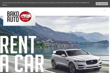 Wypożyczalnia samochodów BAKO AUTO Sp. z o.o. - Wypożyczalnia samochodów Sierpc