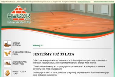 P.U.P. Hegor Sp. Z o.o. - Kierownik budowy Sochaczew