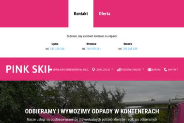 TKM Recykling - Kontenery - Wynajem Kontenera na Gruz Wrocław