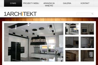 1Architekt Magdalena Mirek-Roszkowska - Usługi Projektowania Wnętrz Białystok