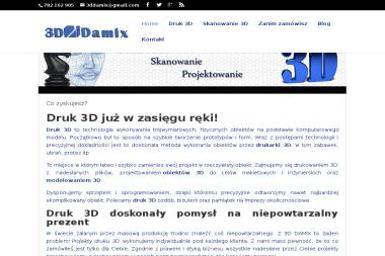 3D Damix - Drukowanie Filipów Drugi