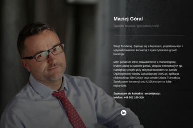 Maciej Góral Udana Transakcja - Strony internetowe Krosno