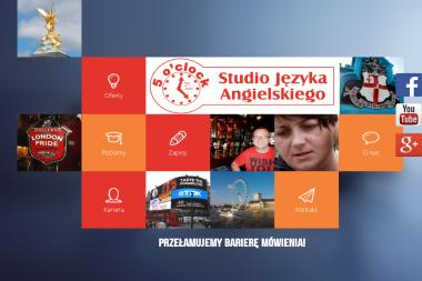 5 o`clock. Studio Języka Angielskiego - Szkoła Językowa Dzierżoniów