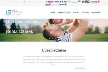 Agencja Ubezpieczeniowa Beata Ożarek. OC, agent ubezpieczeniowy - Ubezpieczalnia Garwolin