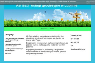 AB Geo. Tomasz Słowikowski - Geodeta Lublin