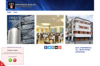 BIURO PROJEKTÓW AB13 arch. ARKADIUSZ BIAŁAS - Projekty Domów Zabrze