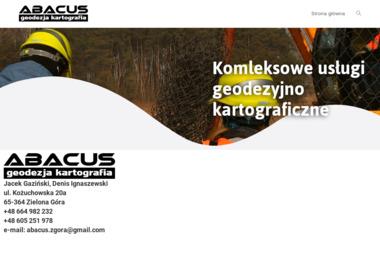 Abacus Usługi Geodezyjno-Kartograficzne S.C. - Usługi Geodezyjne Zielona Góra