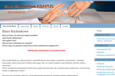 Abakus s.c. Biuro Rachunkowe - Biuro rachunkowe Gorzów Wielkopolski