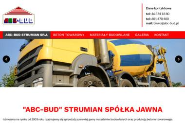Abc-Bud Strumian Sp.J. - Skład budowlany Brzeziny