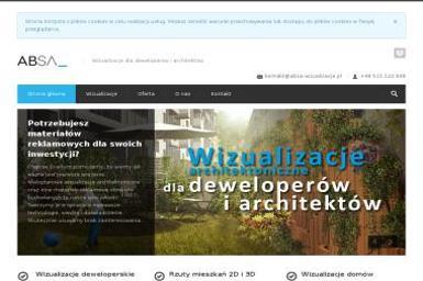 ABSA Wizualizacje Architektoniczne - Projekty domów Gorzów Wielkopolski