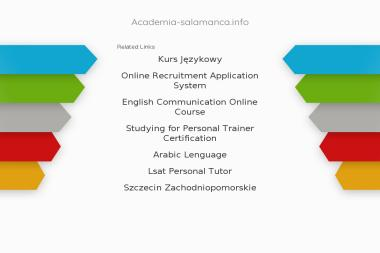 Academia de Espanol Salamanca. Centro DELE w Szczecinie. Szkoła Języka Hiszpańskiego Tłumaczenia - Szkoła językowa Szczecin