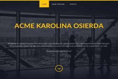Acme Agencja Reklamowa Karolina Osierda. Drukarnia, upominki reklamowe - Kosze Upominkowe Pisarzowice