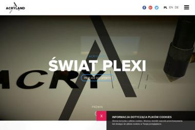 Acryland. Stojaki reklamowe, potykacze, display - Tokarz Chwaszczyno