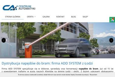Add System-usługi serwisowe - Strona Internetowa Gliwice