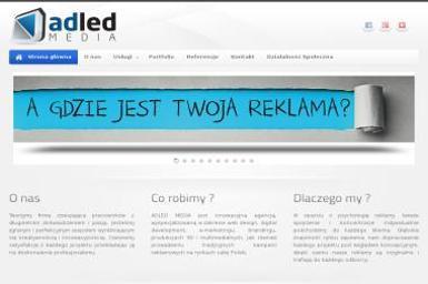 Adled Media. Agencja Reklamowa - Ulotki Kwidzyn
