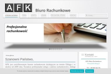 Agnieszka Tylkie AFK Biuro Rachunkowe - Usługi finansowe Elbląg