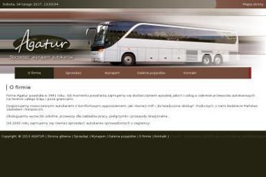 Agatur Usługi Autokarowe Krajowe i Zagraniczne - Firma transportowa Tarnobrzeg