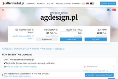 A.G. Ddesign. Projekt wnętrza, projekt kuchni - Projektowanie Wnętrz Mysłowice