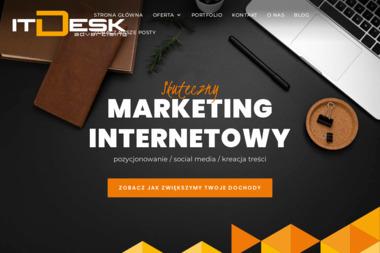 Agencja Interaktywna Marketingu Zintegrowanego itDesk Development & Advertising - Pozycjonowanie stron Opole