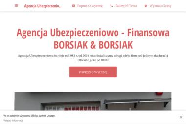 Agencja Ubezpieczeniowo - Finansowa BORSIAK & BORSIAK - Ubezpieczenie firmy Sosnowiec