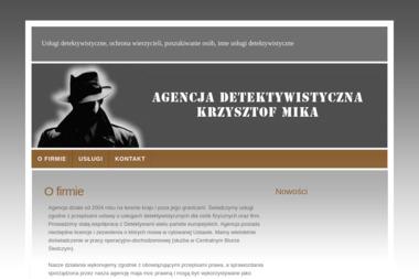 Agencja Detektywistyczna Krzysztof Mika - Skup długów Mościsko
