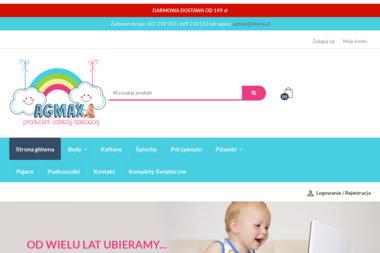 Agmax Producent Odzieży Dziecięcej - Szwalnia Kotomierz