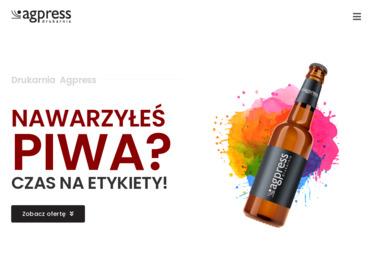 Drukarnia Agpress - Ulotki Nowa Biała