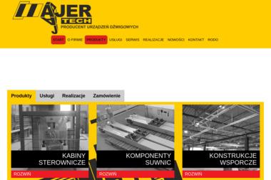 PPHU Ajer-Tech - Konstrukcje stalowe Kluczbork