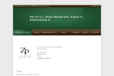Biuro Tłumaczeń Ak art. S.C. K Kobus A Adamowska - Tłumacze Kutno