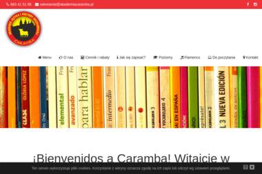 Akademia Języka i Kultury Hiszpańskiej Caramba. Język hiszpański, nauka hiszpańskiego - Szkoła językowa Płock